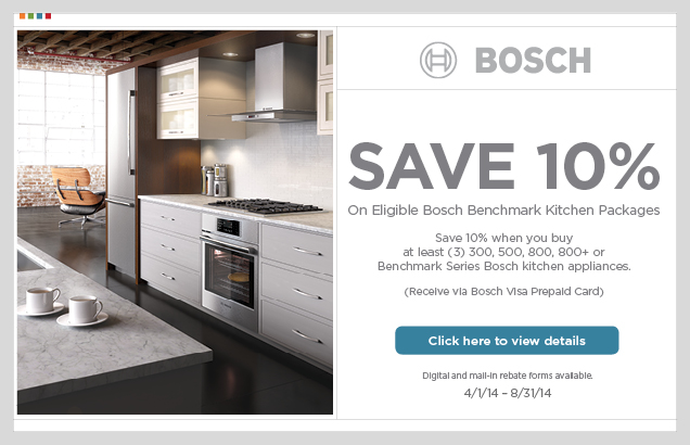Bosch Rebate Come