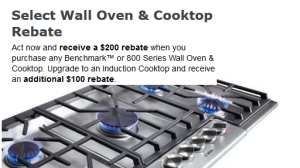BENCHMARK OVEN PROMO